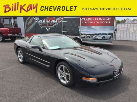 Pre-Owned 2001 Chevrolet Corvette  RWD Coupe