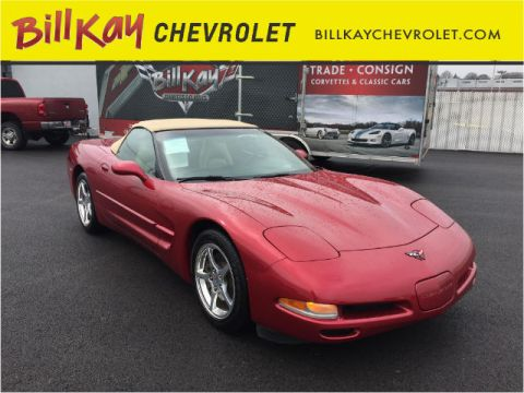 Pre-Owned 2004 Chevrolet Corvette  RWD Convertible