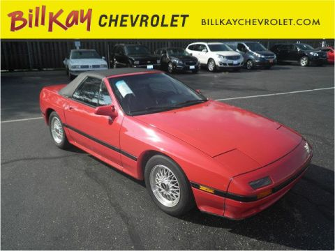 Pre-Owned 1988 Mazda RX-7  RWD Convertible