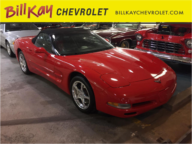 Pre-Owned 2001 Chevrolet Corvette